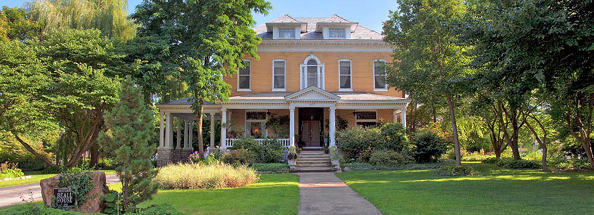 Beall Mansion Bed and Breakfast Inn St. Louis Area